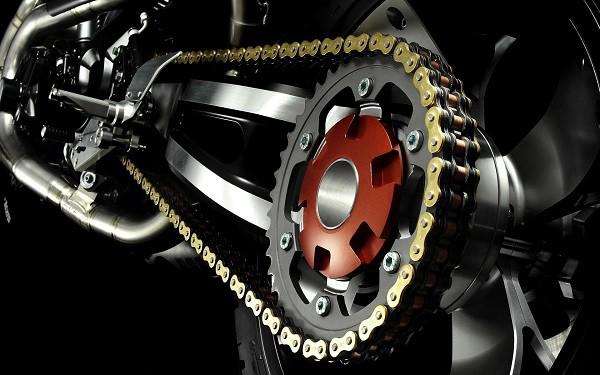 Las partes de la moto